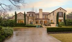 Italian style mansion :: Highland Park, Texas