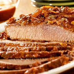 Slow-Cooked Carolina Beef Brisket