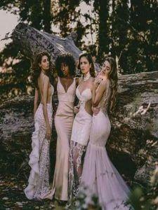 Απολαύστε την συλλογή UNIQUE ΝΥΦΙΚΑ by Designer Lewaa. Ζήστε την μοναδική εμπειρία της υψηλής ραπτικής την πιο σημαντική μέρα της ζωής σας. #Νυφικά #AtelierTsourani #DesignerLewaa #ΜοναδικάΝυφικά #ΧειροποίηταΝυφικά #ΜοντέρναΝυφικά #WeddingDress Handmade Wedding Dresses, Bridesmaid Dresses, Romantic, Bridal, Fashion, Atelier, Ruffles Bridesmaid Dresses, Moda, Bridesmaid A Line Dresses