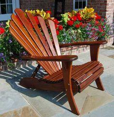 Charleston Chair - Ipe Adirondack Chairs versus Teak Adirondack Chairs