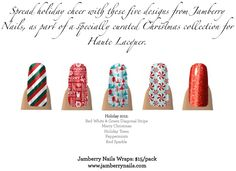 Haute Lacquer: 7 Days of Christmas Giveaway: Day 1 | Jamberry Nails!