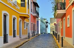Danxia Landform, Fachada Colonial, Old San Juan, World Of Wanderlust, Pintura Exterior, Porto Rico, San Juan Puerto Rico, Belle Villa, Concrete Jungle