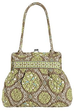 """Article: A Downside to Summer- Vera Bradley bags look like your """"grandmother's bedspread""""- YES!!"""