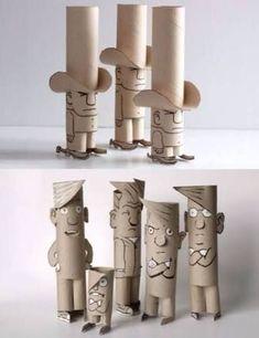 tuvalet kağıdı rulosundan kalemlik yapımı ile ilgili görsel sonucu