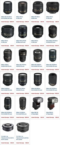 The new Nikon rebates now include 18 lenses, teleconverters and Speedlights