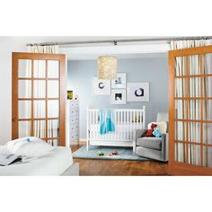 Room & Board - Nest Crib with Toddler Bed Conversion Rail