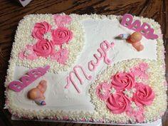 Samantha's baby shower cake