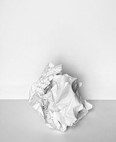 I find beauty in. Wrinkled Paper, Crumpled Paper, Aesthetic Colors, White Aesthetic, Colour Pallete, Painted Paper, Art Challenge, All White, Light And Shadow
