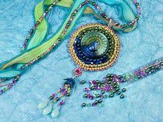 Free Ideas: Artbeads.com - Peacock Dance