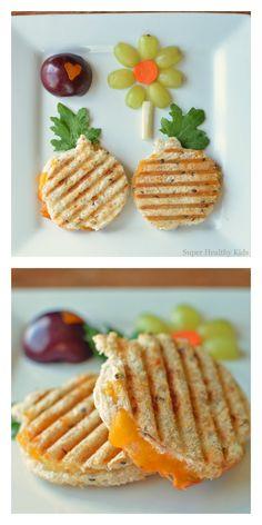 Cheesy apple panini!  Best sandwich we make!