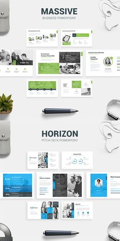 #Business #Presentation #Bundle - PowerPoint Templates Presentation Templates. We are introducing MASSIVE – Business Presentation Template, a clean, modern and trendy template for many business use. With many color options, you can easily customize colors that fit your brand. Easily editable all element, versatile slides, multipurpose use, and many feature!