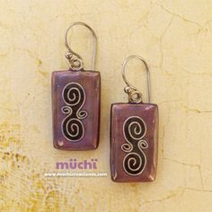85.11. Polymer clay earrings fimo