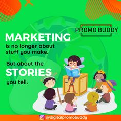 "Marketing Is About The Stories You Tell. ⁠ ⁠ As Seth Godin once said, ""Marketing is no longer about the stuff that you make, but the stories you tell. Mail Marketing, Marketing Quotes, Digital Marketing Services, Content Marketing, Social Media Marketing, Seth Godin, Website Services, Search Engine Marketing, Instagram"