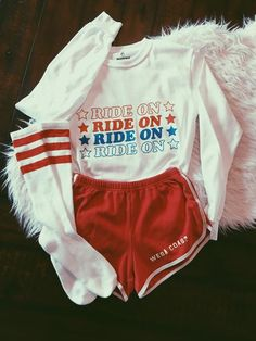- Ride On Long Sleeve Tee - Available in White - Sizes S, M, L - 100% Preshrunk Cotton - Printed in USA