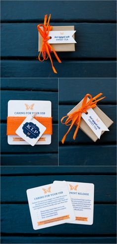 Packaging and USB | KLP Photography