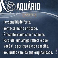 #características #signos #signosdozodíaco #aquário