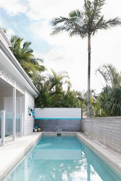 Atlantic Byron Bay - Leather and Lattes Outdoor Spaces, Indoor Outdoor, Outdoor Living, Outdoor Decor, The Atlantic Byron Bay, Water Element, Beach House, Swimming Pools, New Homes
