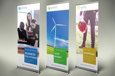 Multipurpose Roll-Up Banners by NEXDesign on Creative Market