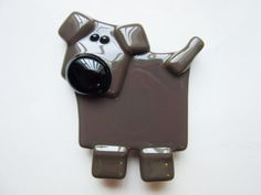 Chocolate Lab Dog Magnet  Refrigerator Magnet  by LaRocheStudios