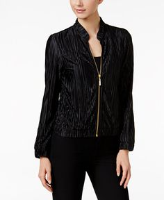 59.99$  Watch now - http://vifwd.justgood.pw/vig/item.php?t=of42mo544402 - Pleated Bomber Jacket 59.99$