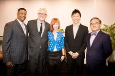 Sun and I, with Bishop Dick Bernal, Dr. Paul Kim and Dr. Harry Bims ...