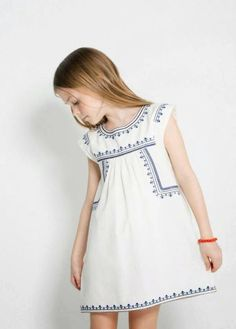 Summer Dresses 2014 for Boys and Girls | Mango Spring Summer Dresses 2014