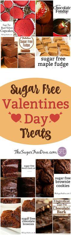 Sugar Free Valentines Day Treats via @thesugarfreediva