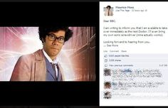 Maurice Moss to be the 12th Doctor?