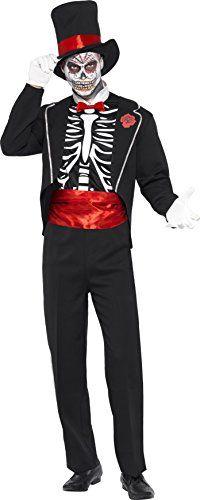 Day of the Dead Skeleton Voodoo Halloween Fancy Dress Men Costume. Halloween Party Costume Ideas For Men. Day Of The Dead Costume Ideas. Skeleton Fancy Dress, Mens Halloween Fancy Dress, Fancy Dress Hats, Skeleton Costume For Men, Costume Paris, Costume Shop, Adult Costumes, Halloween Costumes, Costumes