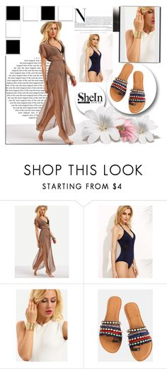 """SheIn 5/9"" by melissa995 ❤ liked on Polyvore"