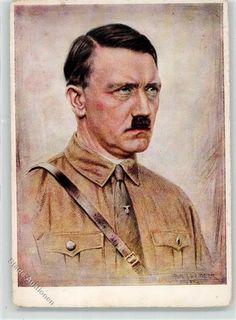 Künstlerkarte Hitler WK II: Ansichtskarten-Center Onlineshop