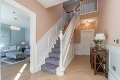 Detached House for sale Fox Hall, Curragha Road, Ratoath, County Meath New Homes For Sale, Property For Sale, 1930s House Interior, Contemporary Shower, Wall Mounted Lamps, Boundary Walls, Timber Panelling, Metal Railings