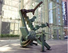 Evolution by Andrew Rogers, 1999. Silicon Bronze.