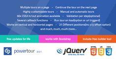 Power Tour - Powerfull creative jQuery tour plugin