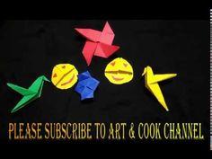 Pinwheel, lantern, flapping bird, emoji bookmark - YouTube