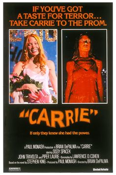 """Carrie"" - Carrie, a Estranha - 1976 by Brian De Palma, based in a novel by Stephen King. Tks Annie"
