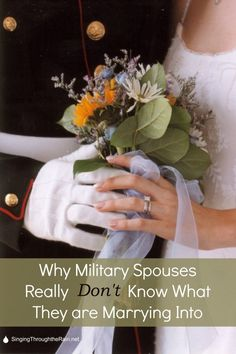 Have you wondered why military spouses talk about how hard military life? Military spouses really don't know what they are marrying into. Military Divorce, Military Girlfriend, Military Love, Army Love, Military Families, Military Couples, Family Divorce, Military Deployment, Military Quotes