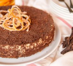 Chocolate Orange Tarte   yum. Gluten Free Magazine