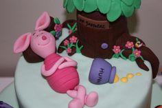 Winnie the Pooh cake - Piglet