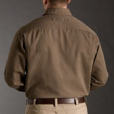 Men's Everyday F.O.M. Long Sleeve Twill Work Shirt - Duluth Trading