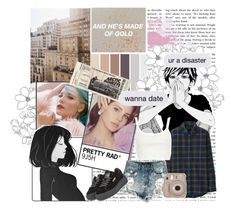 """battle of the music artists!"" by bangtan-life ❤ liked on Polyvore featuring Uniqlo, Puma, River Island, Fujifilm, audition, lanadelrey, battlegroup and halsey"
