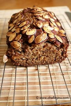 Healthy Spiced Pumpkin Bread