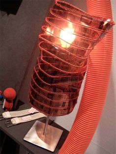 MEMORY LAMP 2008 » Claudia Kiessling University, Table Lamp, Memories, Lighting, Projects, Home Decor, Memoirs, Log Projects, Lamp Table