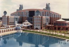 disney world swan and dolphin hotel...this is where we stayed! Soooo cool