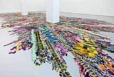 polly apfelbaum art | Polly Apfelbaum