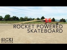 Turn a Skateboard Into a Rocket With Mentos and Coke |