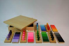 Boîte de dégradés de couleurs - Vie Pratique et Vie sensorielle - Montessoria