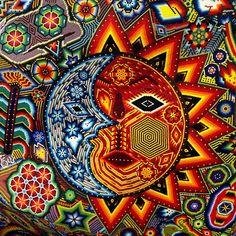 Detalle Maya + Huichol