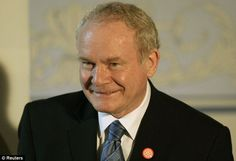 Historic meeting: Martin McGuiness will meet with the Queen and is expected to shake the Monarch's hand