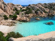 Cala Coticcio, Sardinia. Also known as Thaiti beach.